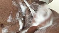 Calcinha da esposa banho punheta