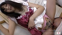 Dog sniffing girl 7 Chie version No.1 Armpit rice balls by FETSI