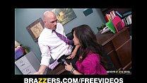 Big-tit MILF Lisa Ann Is slammed by hard cock on her boss's desk thumbnail