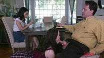 Dad Uses Both Daughters For Sexual Needs- Aliya Brynn