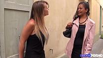 Jade, slut from Madagascar, has fun in threesome with Tiffany Leiddi