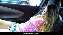 ShesNew Hot blonde babe Staci Silverstone naked public POV blowjob