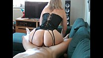 Best lingerie video  with milf Nini Divine perf...