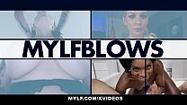 MYLF - Beautiful Milf Drains Her Stepson's Cock...