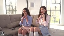 BFFs try anal together - Anita Bellini and Evel...