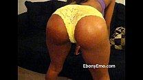 Ebony Emo With Nice Booty Dance Nude In Socks Thumbnail