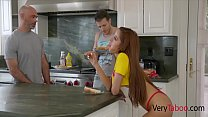Sister's Breakfast With Brother's Sausage- Vanna Bardot