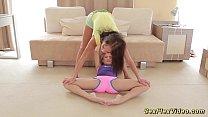 skinny flexible girlfriend gymnasts pornhub video