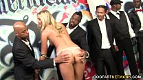 10 Angry Black Men Destroy Alysha Rylee's Pussy preview image