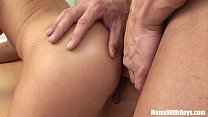 Sexy MILF Veronika Fucked On The Office Table preview image