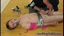 Skinny cute boy bondage and of men ass fucked gay The skimpy guy gets