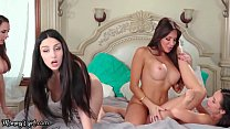 MommysGirl Step-Family Secret Reveal Turns Into Lesbian Foursome