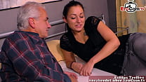 young 18yo german stepdaughter fucks with grandpa stepfather