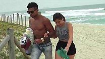 Novinha do Rabo Gigante parte da Praia Direto para o Motel com Carioca image
