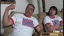 Interracial Gangbang With White Dicks 5