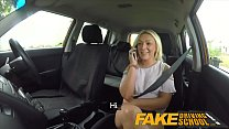 12287 Fake Driving School Sexual discount for big tits blonde Scottish babe preview