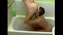Oral sex in the bathroom صورة
