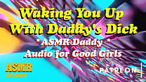 ASMR Daddy Wakes you up with his Cock inside You, Ruins your Ass (DDLG Audio Porn)