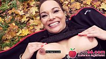 Naughty outdoor fuck with filthy ▲ MILF Dirty P...