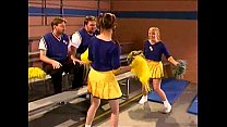 Cheerleader Kristina Black in the locker room video