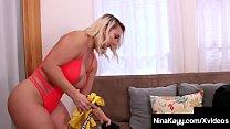 Big Butt Dirty Nina Kayy Gets Cock In Her Mouth & Curvy Cunt - 69VClub.Com