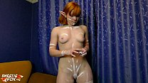 Young Girl Hard Sucking Cock Best Friends after Painted the Body صورة