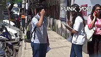 Girl Asking For Dick Size from Strangers! Funk You (Prank in India)