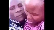 Ugandan horny mama fucked in the bush