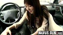 (Yui Hatano) - Asian Teen Shows Off Her Bush - Mofos