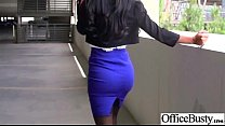 (amia miley) Slut Girl With Big Round Tits Get Bang hard In Office mov-2 porn image