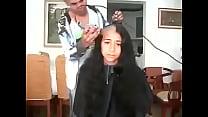 8199 مغربية سوسية تحلق شعرها الطويل preview