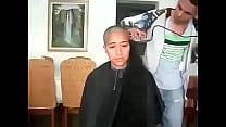 14445 مغربية سوسية تحلق شعرها الطويل preview