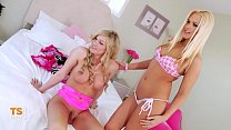 Threesome with a TS housewife