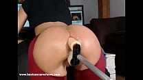 Live double penetration with dildos