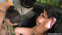 Busty brunette Gigi Love loves fuck hard thumbnail