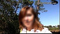 teen flashing outdoor Vorschaubild