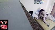 Young people recorded with hidden camera while they fuck