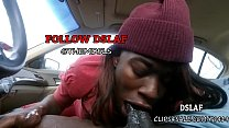 7298 Jamaican Teen Giving Sloppy Head Blowjob In The Car- DSLAF preview