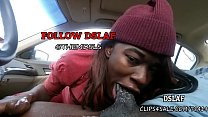 Jamaican Teen Giving Sloppy Head Blowjob In The Car- DSLAF image