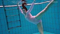 Liza Bubarek hot underwater mermaid
