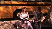 This babe is fucked by her bus driver Preview