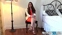 PropertySex - Real estate agent fucks her film producer client thumbnail