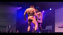 Strippers on stage bdsm action