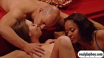 Horny swingers enjoyed massive groupsex in the red room