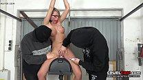Wow! She can't ESCAPE! - www.CruelCam.com Preview