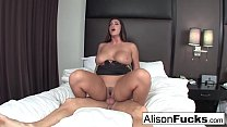 Alison hires a friend for the evening who gives her a good fuck preview image