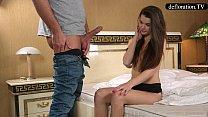 Defloration - a professional takes Mirella's virginity thumbnail