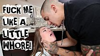 ABUSE ME - Young Teen Kirsten Lee Asks Her Boyfriend Bruno Dickemz To Fuck Her Hard pornhub video