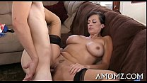 Slutty mature is avid about cock preview image