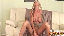 Big Tit Blonde Solo Dildo ★ xxxTurn.com